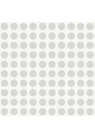papel-de-parede-girl-power-bolinhas-cinza-cod-pw-3949